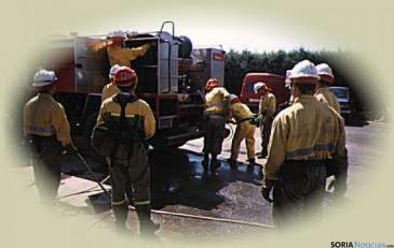 Operativo antiincendios de la Junta.
