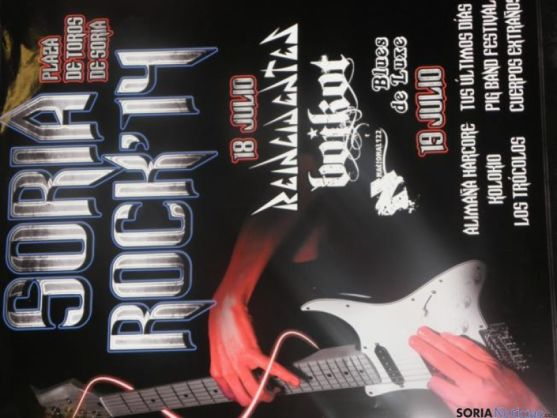 Cartel Soria Rock