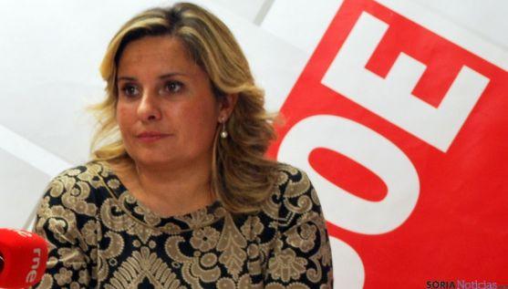 La procuradora soriana Esther Pérez. / SN