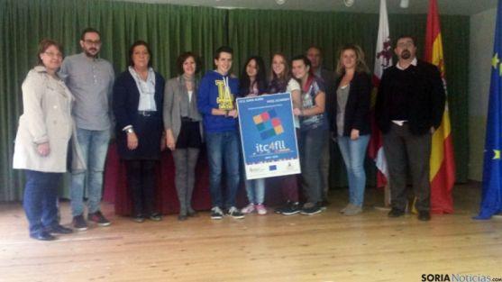 Participantes de Almazán en el encuentro