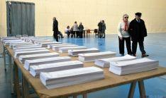 Mesa electoral en el San Andrés en 2014. / SN