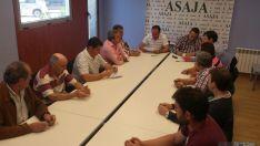 Junta directiva de ASAJA Soria. / AS
