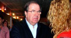 Herrera, en una reciente visita a Soria. / SN