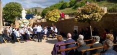 Concierto de la Banda municipal de música en el exterior del monasterio. / SN