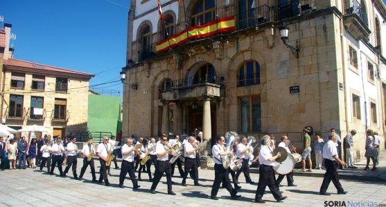 La Banda municipal de música de Covaleda.