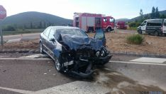 Accidente en Ólvega