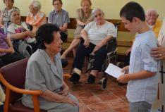Acto en la Residencia San Blas
