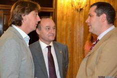 Visita Rector UVA al Ayuntamiento de Soria