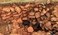 La estructura de la muralla en Velilla de Medinaceli. / Jta.