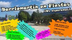 Fiestas en Barriomartín