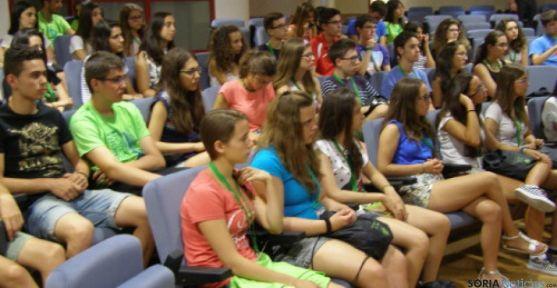 Alumnos del Campus Científico en visita a Lubia
