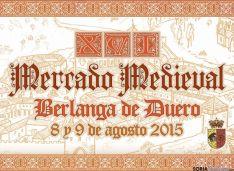 Cartel del XVI Mercado Medieval.