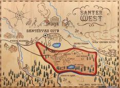 Carteles del SanterWest