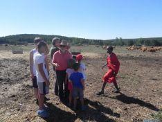 Visita de los masais