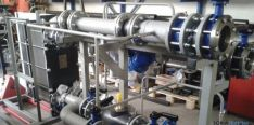 Subestación en sala de calderas de biomasa