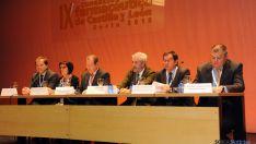 Imagen del congreso regional de farmacéuticos este viernes en la capital. / SN