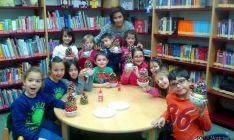 Niños de Golmayo en las actividades navideñas.