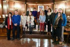 Jurados de 2016, en la primera reunión con el Ayuntamiento.