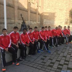 Equipo junior del club Atletismo Numantino.