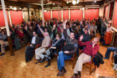 Momento de la votación en la asamblea de la Asociación de Jurados