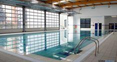 La piscina del polideportivo de la Juventud.