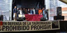 Acto de presentación en Pedraja de Portillo (Valladolid)