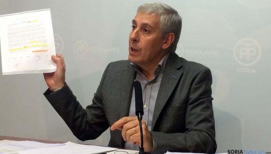 Alberto Rodríguez, concejal del PP en el Ayuntamiento.