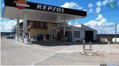 La gasolinera que la que se cometía el delito./GC