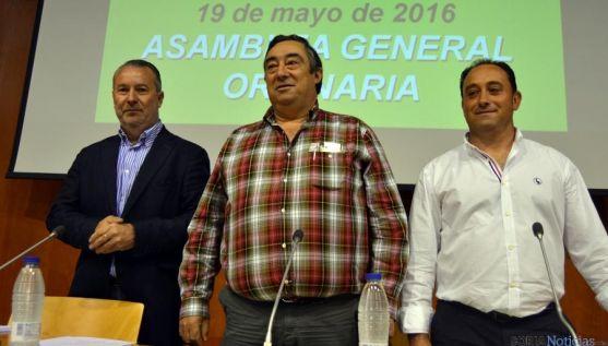 Imagen de la asamblea general de ASAJA Soria este viernes. / SN