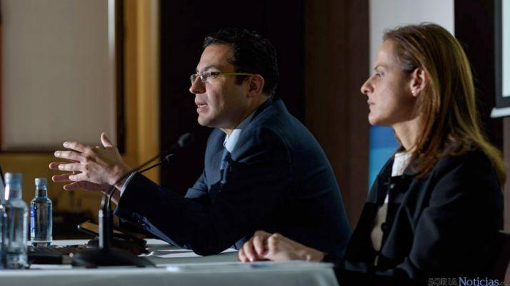 Miguel Cardoso y Yolanda Martínez-Bajo de BBVA. / BBVA