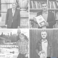 Los candidatos al Congreso de los 4 partidos. SN