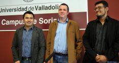 Guillermo Quijano (izda.), Luis Miguel Bonilla y Alberto Ordaz. / SN