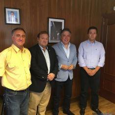 Raúl Castrillo, Carlos Hernando, Tomás Burgos y Víctor Martínez