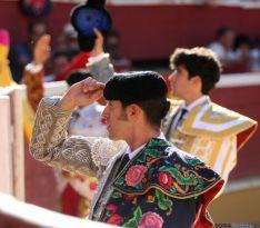 Una de las imágenes esta tarde de Domingo de Calderas./ SN