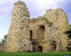 Ruinas del Castillo en la capital.