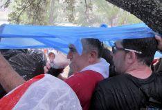 Imagen de la tormenta estas Bailas./SN