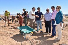Eduardo Carazo, en el campo de trabajo de Numancia. /Junta