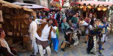 Mercado medieval. /Archivo.