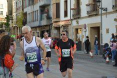 Atletas de la carrera K5 Fermín Cacho. /SN