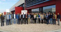 Algunos de los participantes en la jornada organizada por AJE Soria. / SN