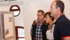 Inauguración de la exposición 'Rincones de la Provincia de Soria' en el Fielato.