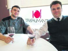 Juan y Pablo de restaurante Trashumante.