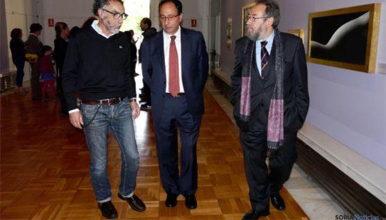 Presentación de la exposición 'Belleza y tiempo' en el Museo Numantino de Soria.