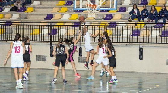 Las chicas del CSB en el San Andrés./CSB