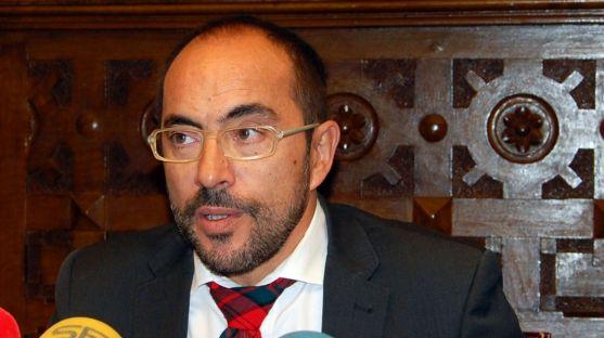 El presidente de la Diputación, Luis Rey. /Dip.