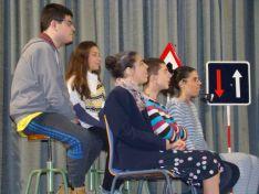 Una imagen de la función. / CEE Santa Isabel