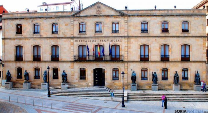 Fachada del Palacio Provincial./SN