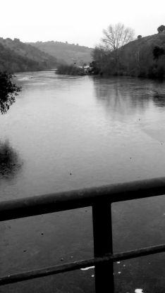 Imagen sobre el puente del Duero.