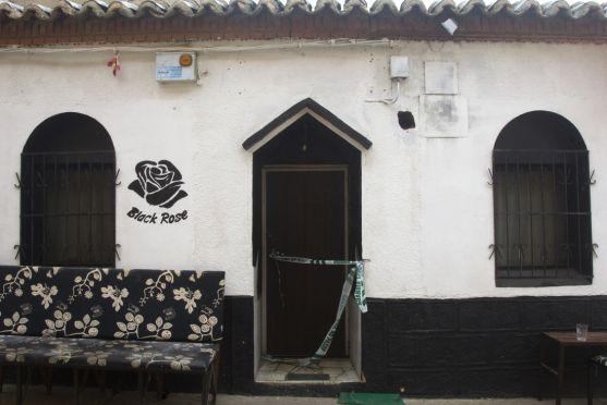 Puerta de la discoteca.