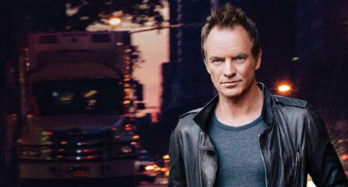 El cantante britániclo Sting.